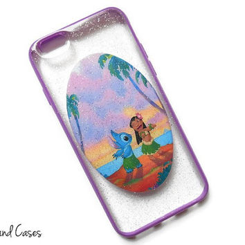 Lilo and Stitch iPhone 6 Case Glitter