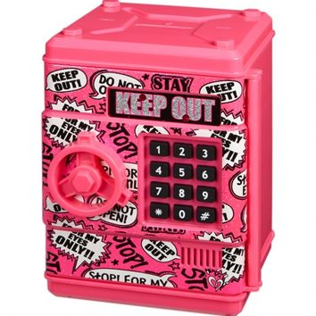 Keep Out Electronic Push Code Safe