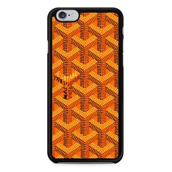Goyard Orange Pattern iPhone 6/6S Case