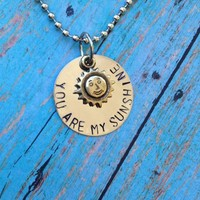 You are my sunshine Necklace from MommaRae's Custom Designs