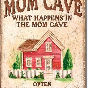 TIN SIGN Mom Cave - Under Appreciated