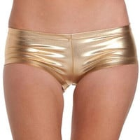 Hot Sexy Shorts Low Waist ShortsHip Patent Leather Leather Shorts Pole Dance Shorts