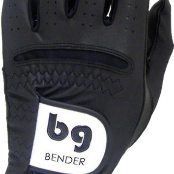 GOLF GLOVE ● Black Synthetic - Cabretta Leather