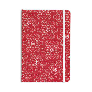 "Heidi Jennings ""Christmas Spirit"" Red Everything Notebook"