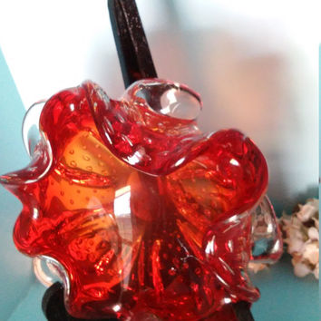 Murano Italian Bohemian Glass Art