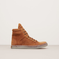 Double Header Suede Sneaker