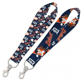 MLB Detroit Tigers Mickey Mouse Key Strap