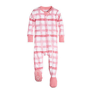 Baby Buffalo Check Organic Cotton Sleeper