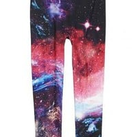 Photoreal Galaxy Leggings | Girls Leggings Clothes | Shop Justice