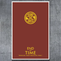 Doctor Who Poster End of Time 11x17 Science by ModernStylographer