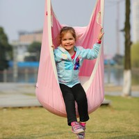 Garden Swing For Children Baby Inflatable Hammock Hanging Swing Chair Kids Indoor Outdoor Pod Swing Seat Sets SW136