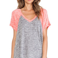 Free People Dancing in the Rain Hacci Top in Gray