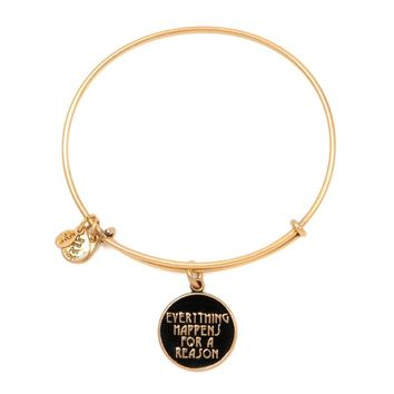 Everything Happens For A Reason Charm Bangle