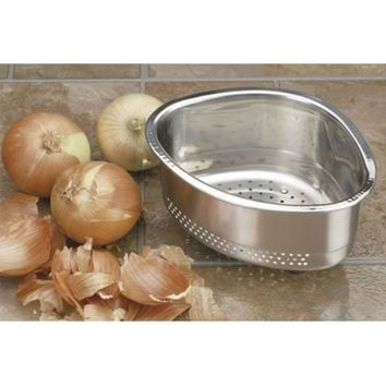 Endurance In-Sink Stainless Steel Corner Basket