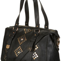 Geo Stud Holdall - Bags & Purses  - Accessories