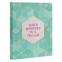 Elisabeth Fredriksson Whiskey In A Teacup Art Canvas