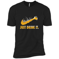 Just Drink It Beer Funny Drinking T Shirts for Beeraholic t-shirt