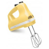 Kitchen Aid Mixer - 5 Speed Hand Mixer - Majestic Yellow