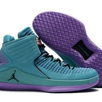 "Air Jordan XXX2 ""Charlotte Hornets"" Teal/Purple-Black"