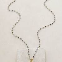 Robindira Azzurra Pendant Necklace in Navy Size: One Size Necklaces