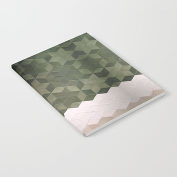 Geometric Pattern Notebook by Salome