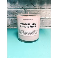 The Perfect Babe Candle