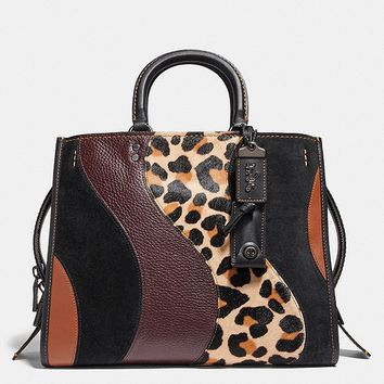 Rogue With Leopard Patchwork