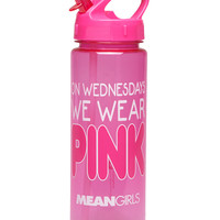 We Wear Pink Water Bottle | Wet Seal