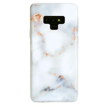 Gray Clouds Marble Samsung Galaxy Case