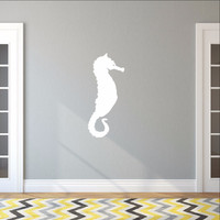 Large Seahorse Style A Vinyl Wall Decal 22565