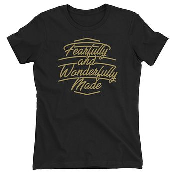 Fearfully and Wonderfully Made Christian T-Shirt for Juniors