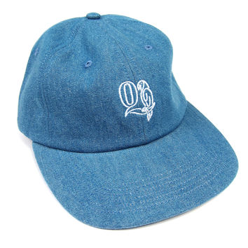 Quiet Life: Macaw Polo Hat - Light Denim