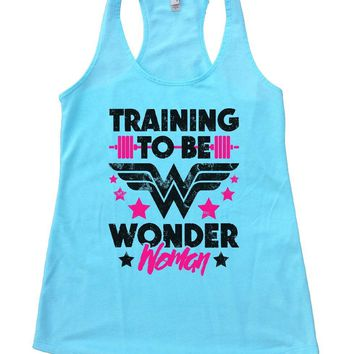 TRAINING TO BE WONDER Woman Womens Workout Tank Top