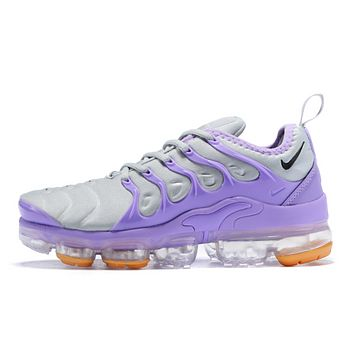 Nike Air Vapormax Plus Fashion New Air Cushion Sport Running Women Shoes Leisure Sneakers Purple