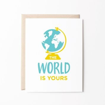 The World is Yours card