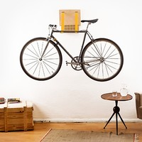 Bike Storage Rack - Yellow
