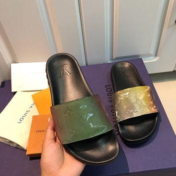 Louis Vuitton LV Waterfront Mule Slide Sandals