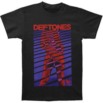 Deftones Men's  Girl Blinds T-shirt Black Rockabilia