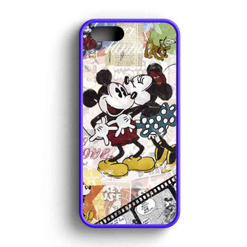 Mickey Mouse And Minnie Mouse Disney  iPhone 5 Case iPhone 5s Case iPhone 5c Case