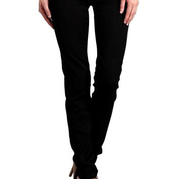 Celebrity Pink Women's Mid Rise Colored Skinny Pants