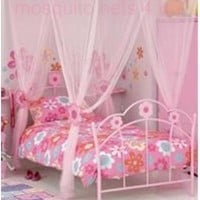 Kids Princess Flower Bed Canopy With Gift Bag