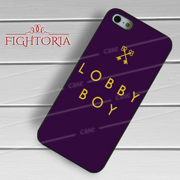 Grand Budapest Hotel Movie Lobby Boy -Str1 for iPhone 4/4S/5/5S/5C/6/6+,samsung S3/S4/S5/S6 Regular/S6 Edge,samsung note 3/4