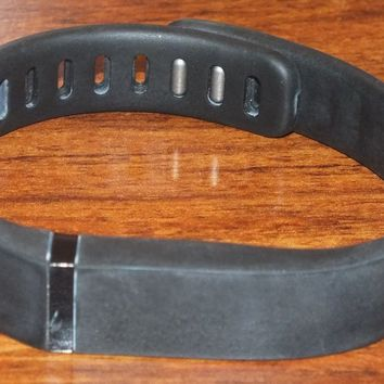 Fitbit Flex Black Bluetooth Wireless Activity + Sleep Tracker! (Size Large) READ