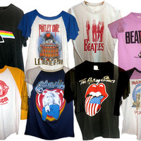 SALE - Mystery Band Rock Tee Shirts , All Styles & Sizes.