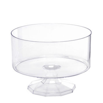 Clear Plastic Trifle Candy Container - Small