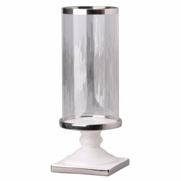 Admirably Modern Elliotte Pedestaled Candle Holder