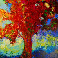 """Original Oil Painting 24 x 36 , """"Sentinel"""" by Claire McElveen"""