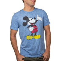 Disney Mickey Mouse Gesture Big Men's Burnout Tee, 2XL - Walmart.com
