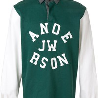 Forest Green Rugby Shirt by JW Anderson