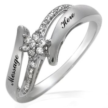 Kay - 1/10 Ct. tw Diamond Ring Sterling Silver
